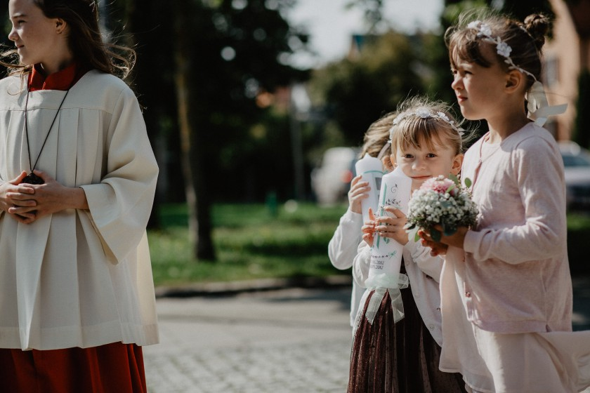 Kerze Hochzeit Kirche Reportage Fotografie München