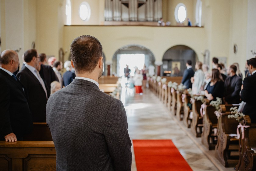 Brautpaar Hochzeit Kirche Reportage Fotografie München