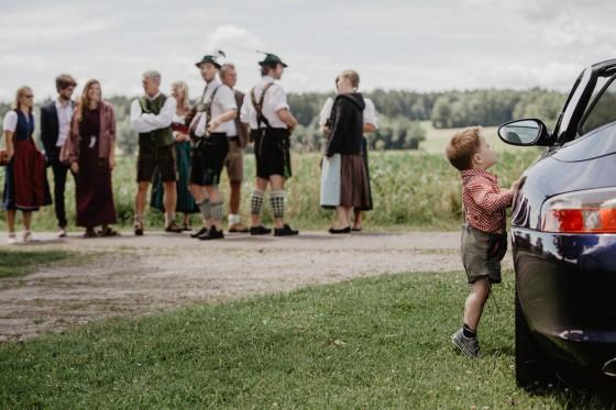 Brautstrauß Trauung Hochzeit Reportage Fotografie Ammersee