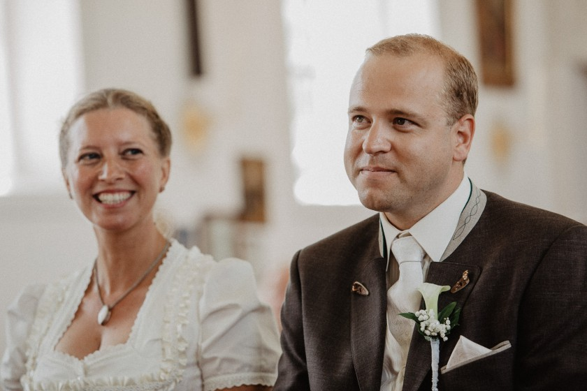 Kirche Trauung Hochzeit Reportage Fotografie