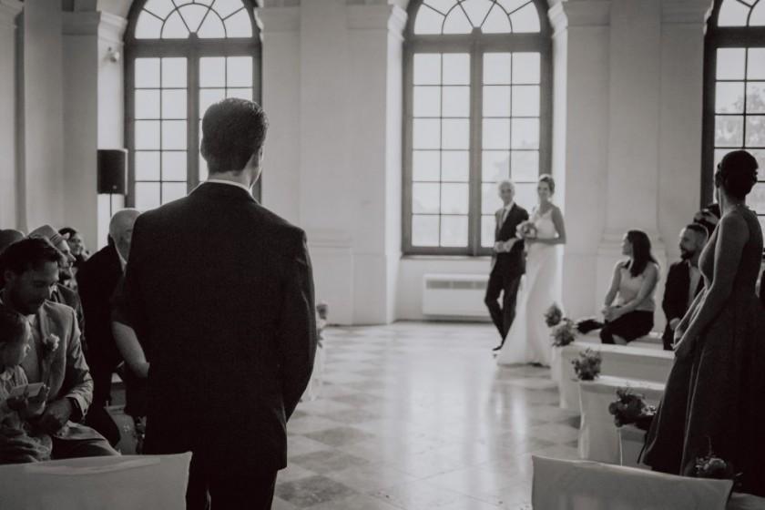 Schloss Dachau Hochzeitsfotografie Hochzeitsreportage Hochzeitsfotograf München freie Trauung