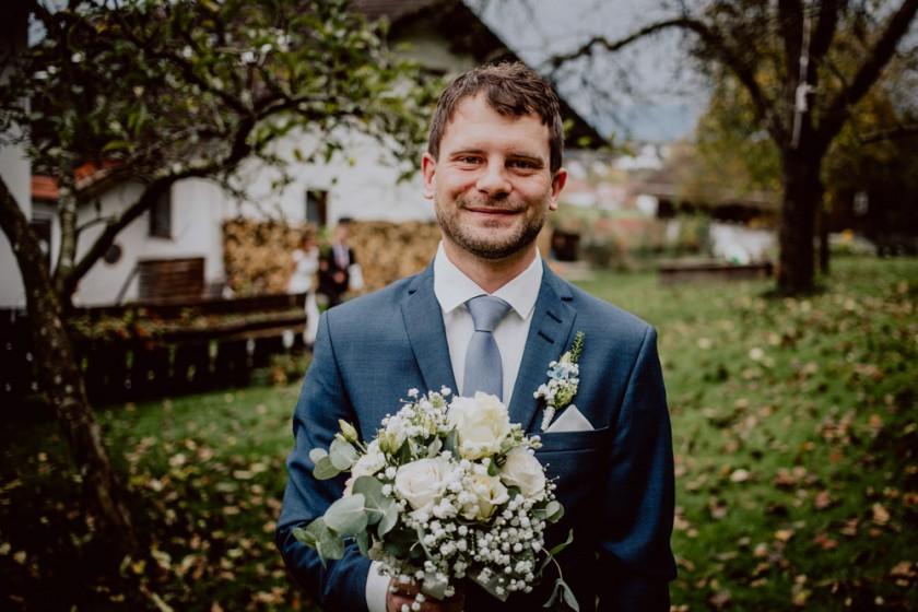Hochzeitsfotograf, Hochzeitsfotografie, Hochzeitsreportage, Brautpaar, Berghochzeit, Bad Kohlgrub, Hörnle, Trauung auf dem Hörnle, Peissenberg, Hochzeit